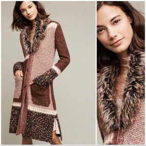 Anthro Angel of the North Sitka Cardigan-Duster